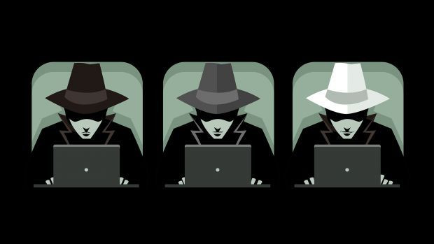 The three types of hackers...Black, Grey and White hats!