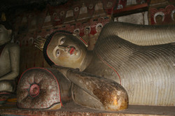 Sri Lanka - Dambulla Höhlentempel