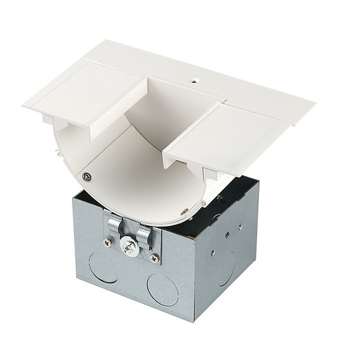 Indirect Recessed Channel Power Feeder