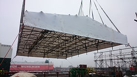 Liftable Roof Shelter Work Wise