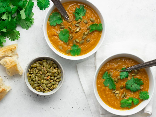 Spicy Fennel and Pumpkin Soup