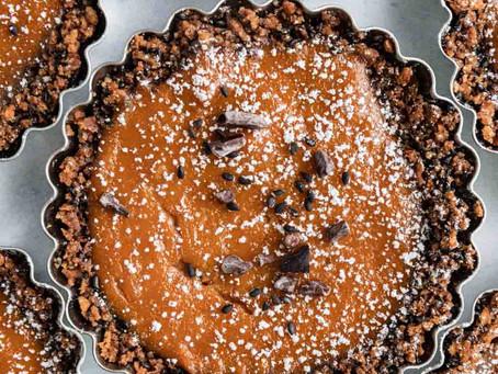 Sweet Potato Sesame Tahini Pie