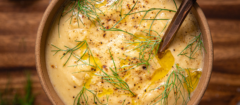 Cauliflower Fennel Soup - AIP friendly, gluten-free and dairy free