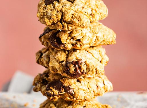 Gluten-Free Oatmeal Chocolate Cookies