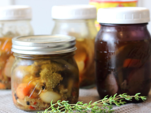 Quick Pickled Veggies