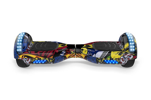 Lifty S1 GoKart Edition  - 6.5 tyres with Bluetooth and LED lights