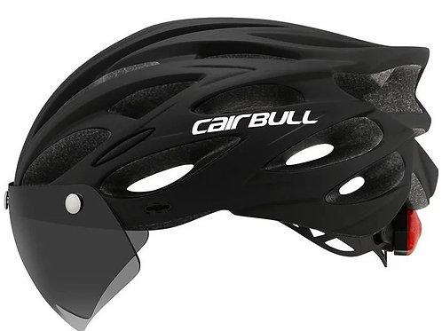 Cairbull 202Cycling Helmet with Visor & TT Lens Sports Ultralight