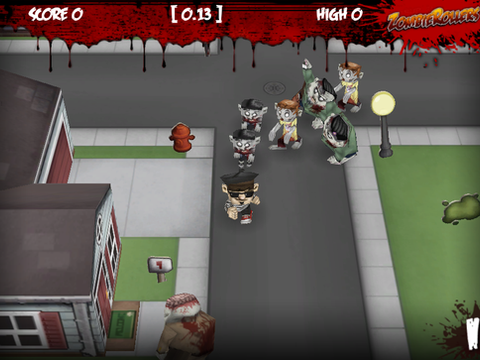 Zombie Rollers Mobile Game