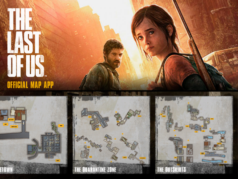 The Last Of Us Map Guide App