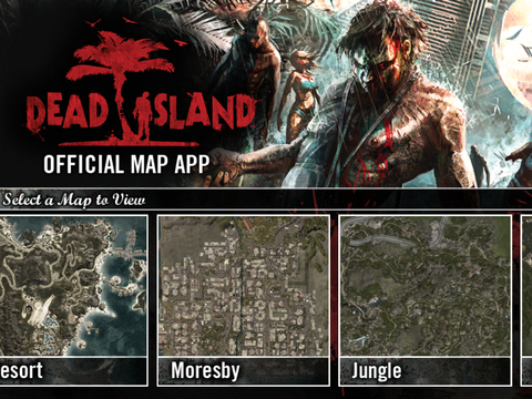 Dead Island Official Map App