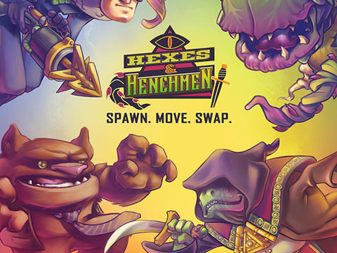 Hexes & Henchman Board Game
