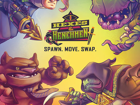 Hexes & Henchman Board Game