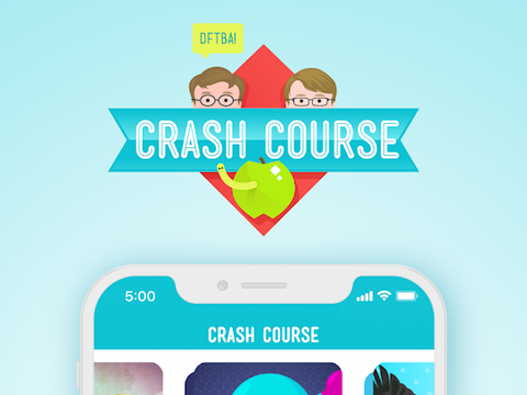 Crash Course Educational Flashcards and Quizzes Game