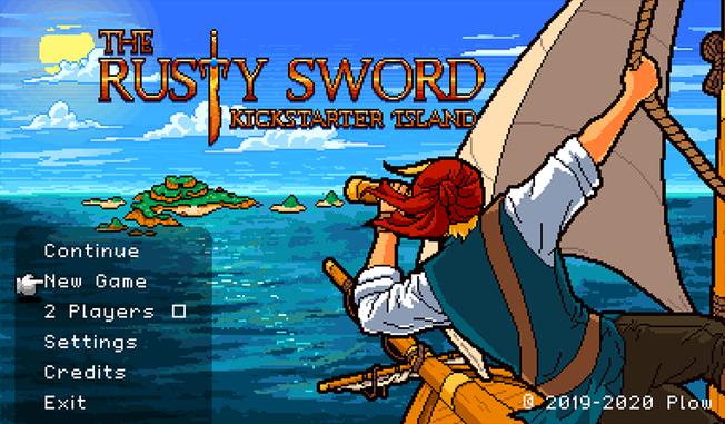 The Rusty Sword Runelock Island