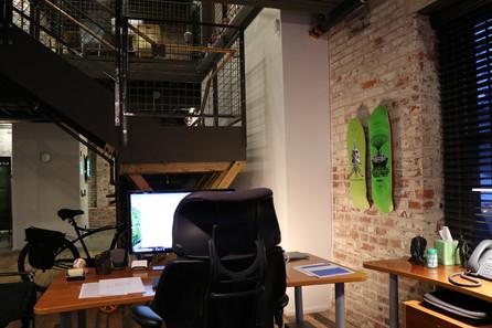 PLOW Office lower level