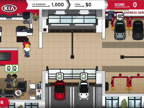 Kia Automotive Online Game