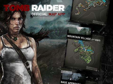 Tomb Raider Official Map App