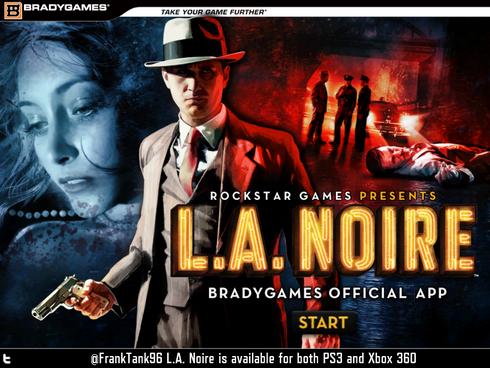 L.A. Noire Map Strategy App