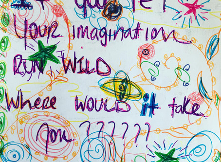 If you let your imagination run wild, where would it take you?