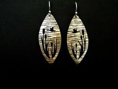 Duck Scene Earrings