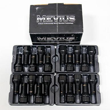 Mevius Lug Bolts Cone Seat M14x1.50 27mm Black