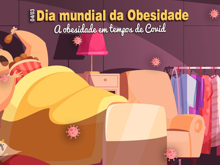 4 de março: Dia mundial da Obesidade.Você está acima do peso?