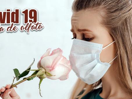Covid 19 e perda de olfato, consulte um Otorrinolaringologista