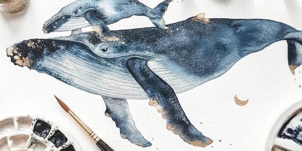 Watercolor & Unwind Workshop