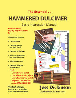 The Essential Hammered Dulcimer Basic Instruction Manual, by Jess Dickinson