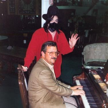 Jess and Michael Jackson