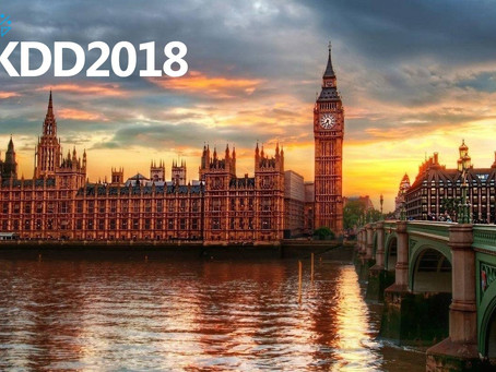 KDD 2018 Announces Best Paper & Other Awards