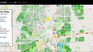 Flint Service Line Map, powered by BlueConduit, Highlights Progress and Remaining Work
