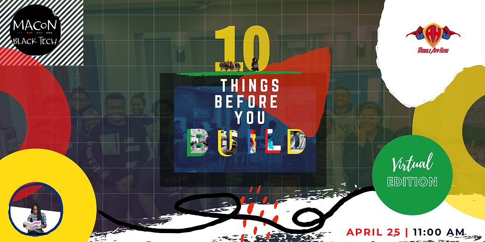 10 Things Before You Build