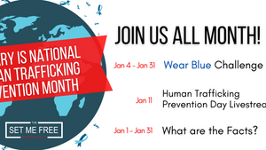 Join Us for Human Trafficking Prevention Month!