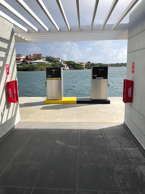 Bennett stainless marina dispenser