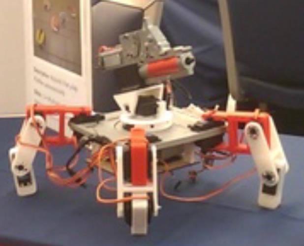 Mech-Warfare Robot