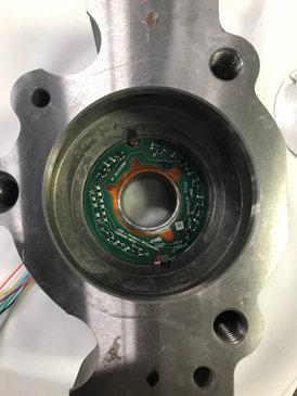 Annular Chip inside pump