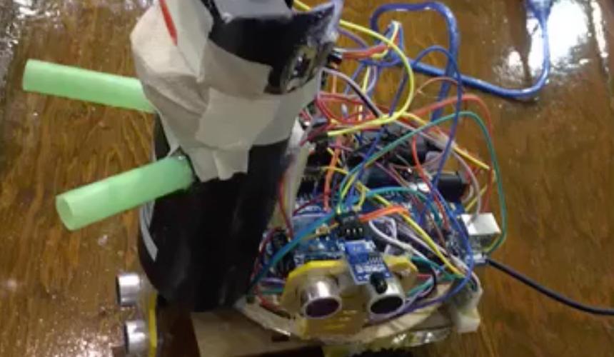 Autonomous Fire Fighter Robot