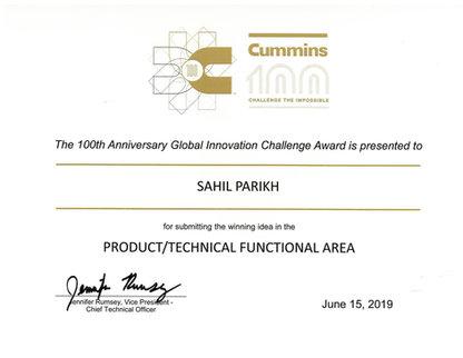 Winner Innovation Challenge