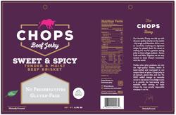 Chops snacks packaging