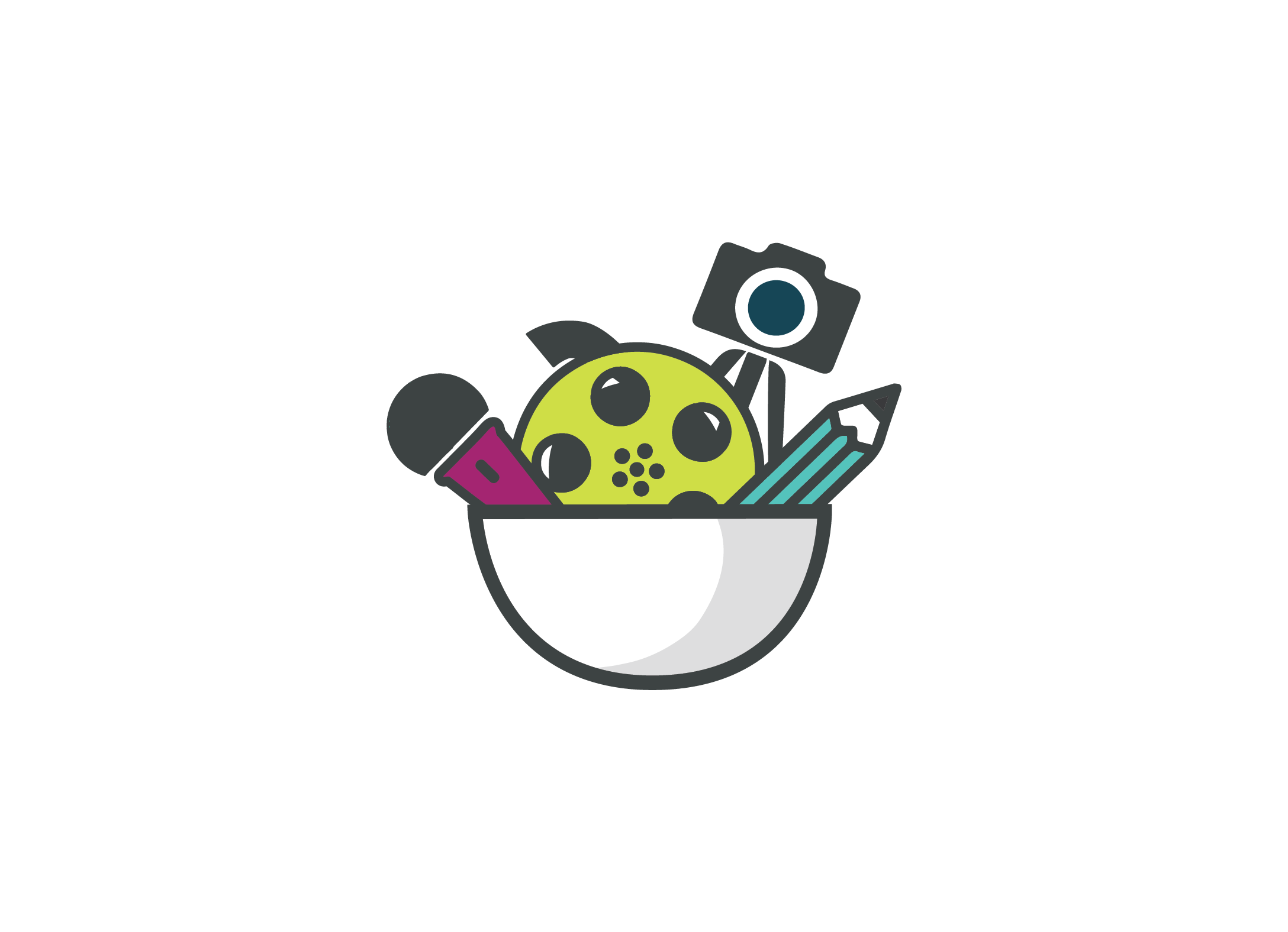 SaladBar Icon Design