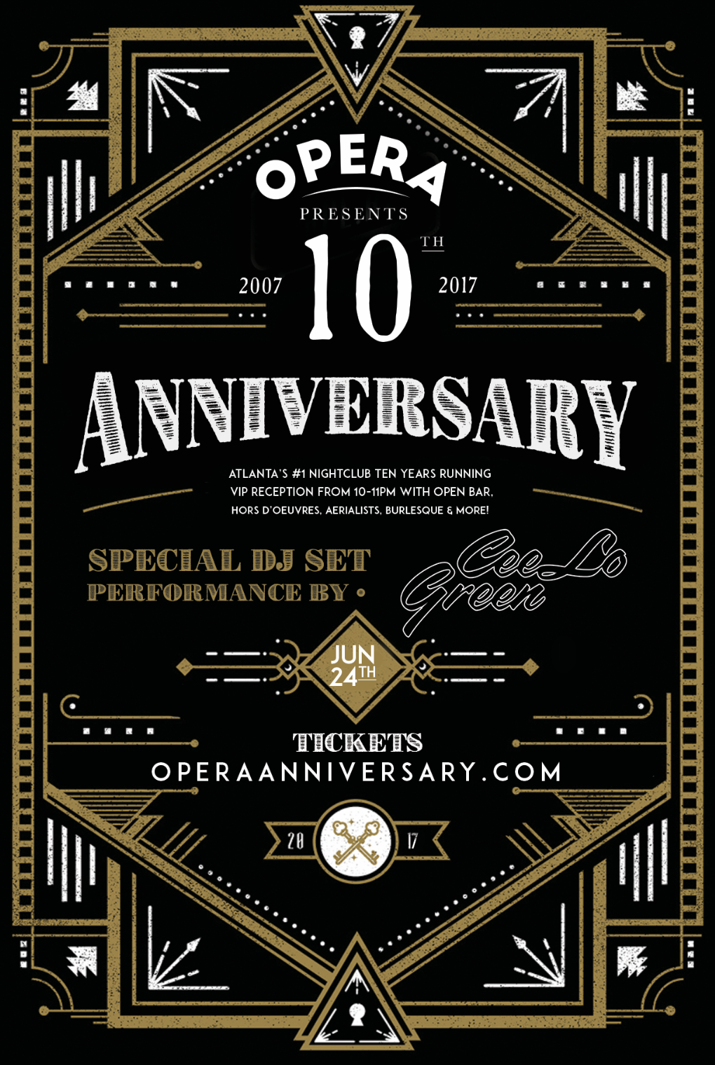 Anniversary flyer design