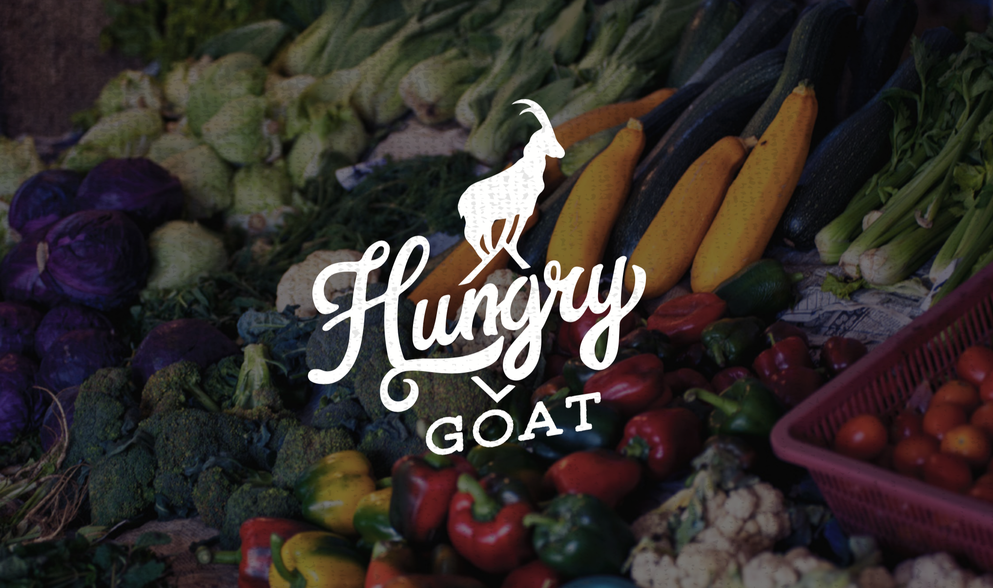 Hungry Goat Logo Design
