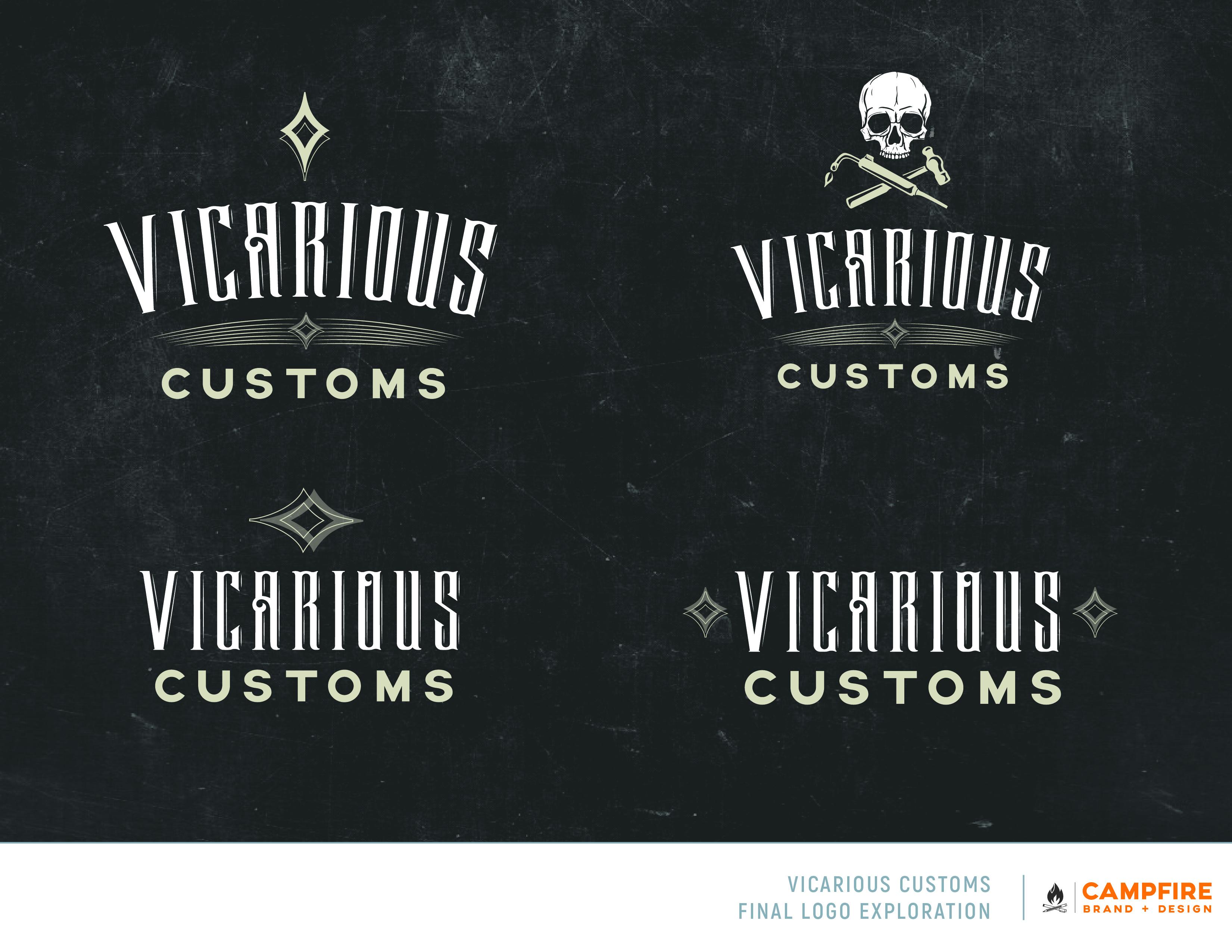 Vicarious Customs Brand Guide