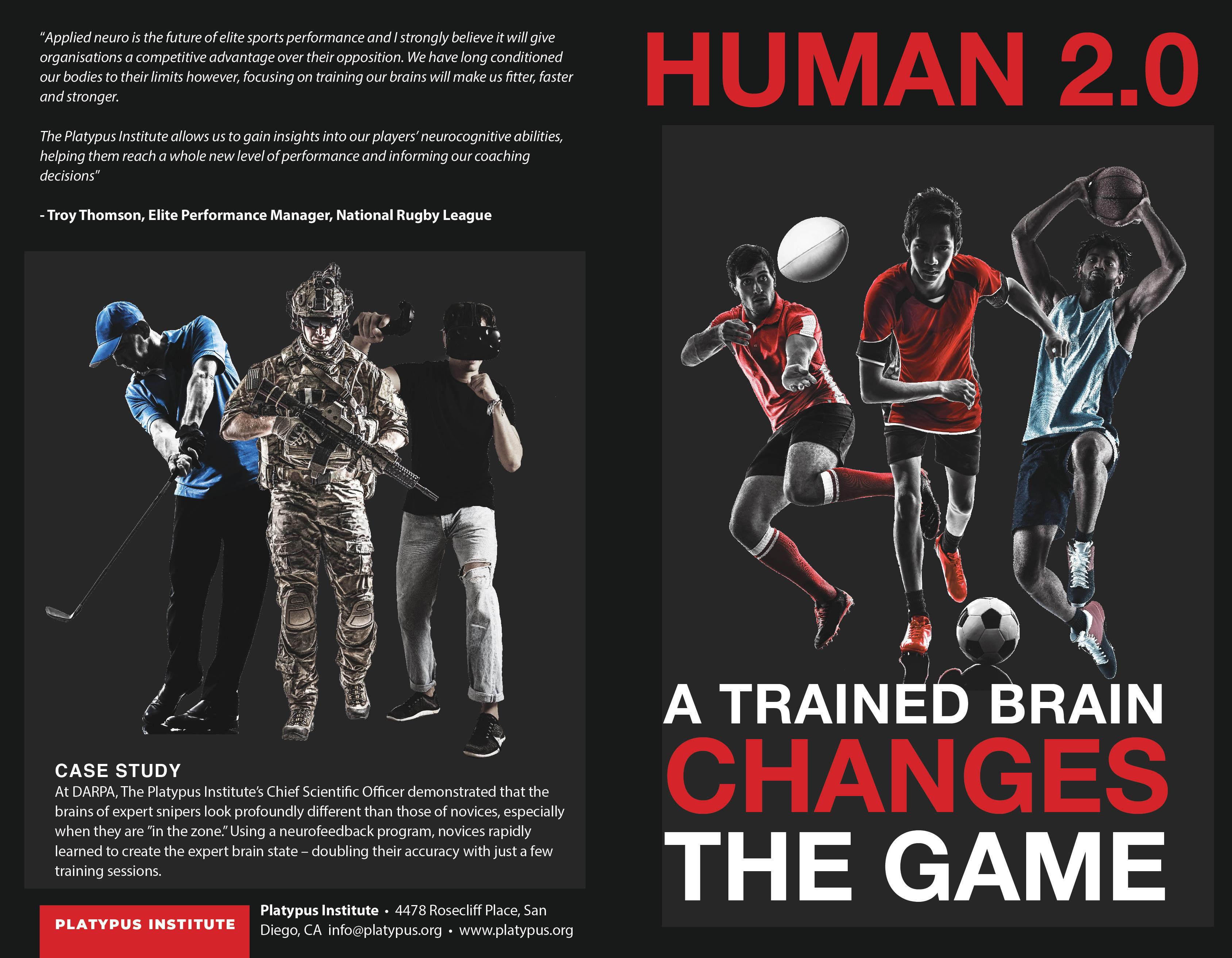 Human 2.0 brochure