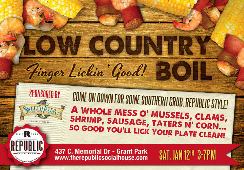 Low Country Boil advertisement