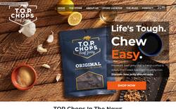 Chops Snaks Website
