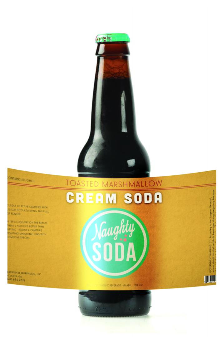 Naughty Soda Packaging