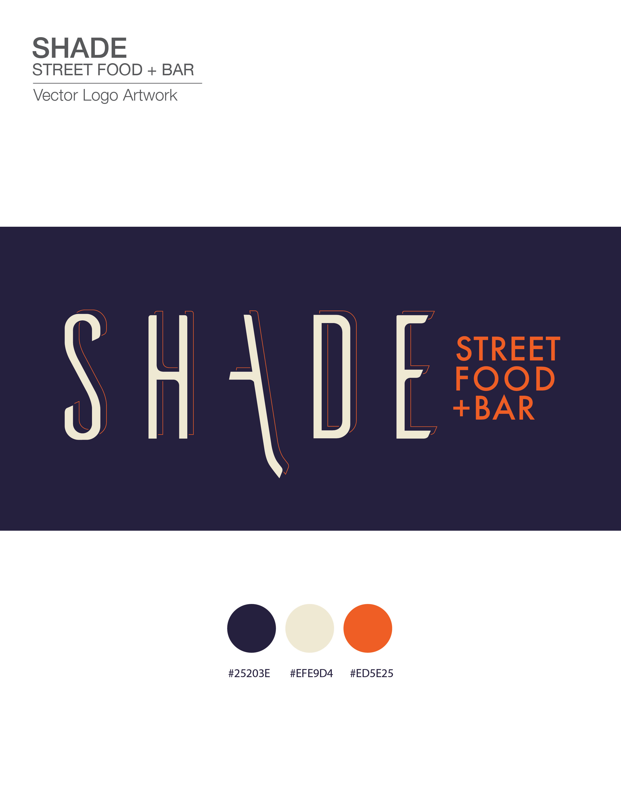Shade Street final logo_Flat logo