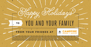 Happy Holidays from CAMPFIRE